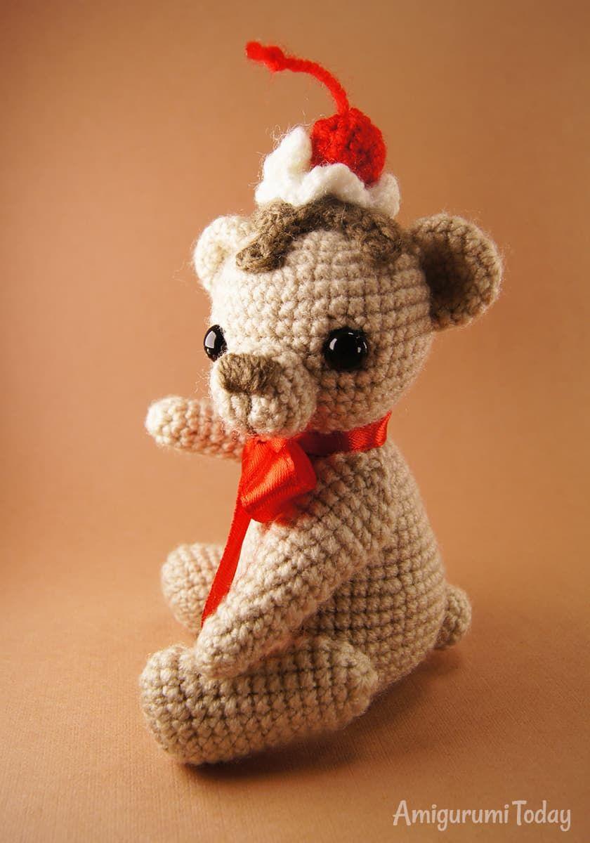 Attractive Gehäkelte Teddybär Muster Illustration - Decke Stricken ...
