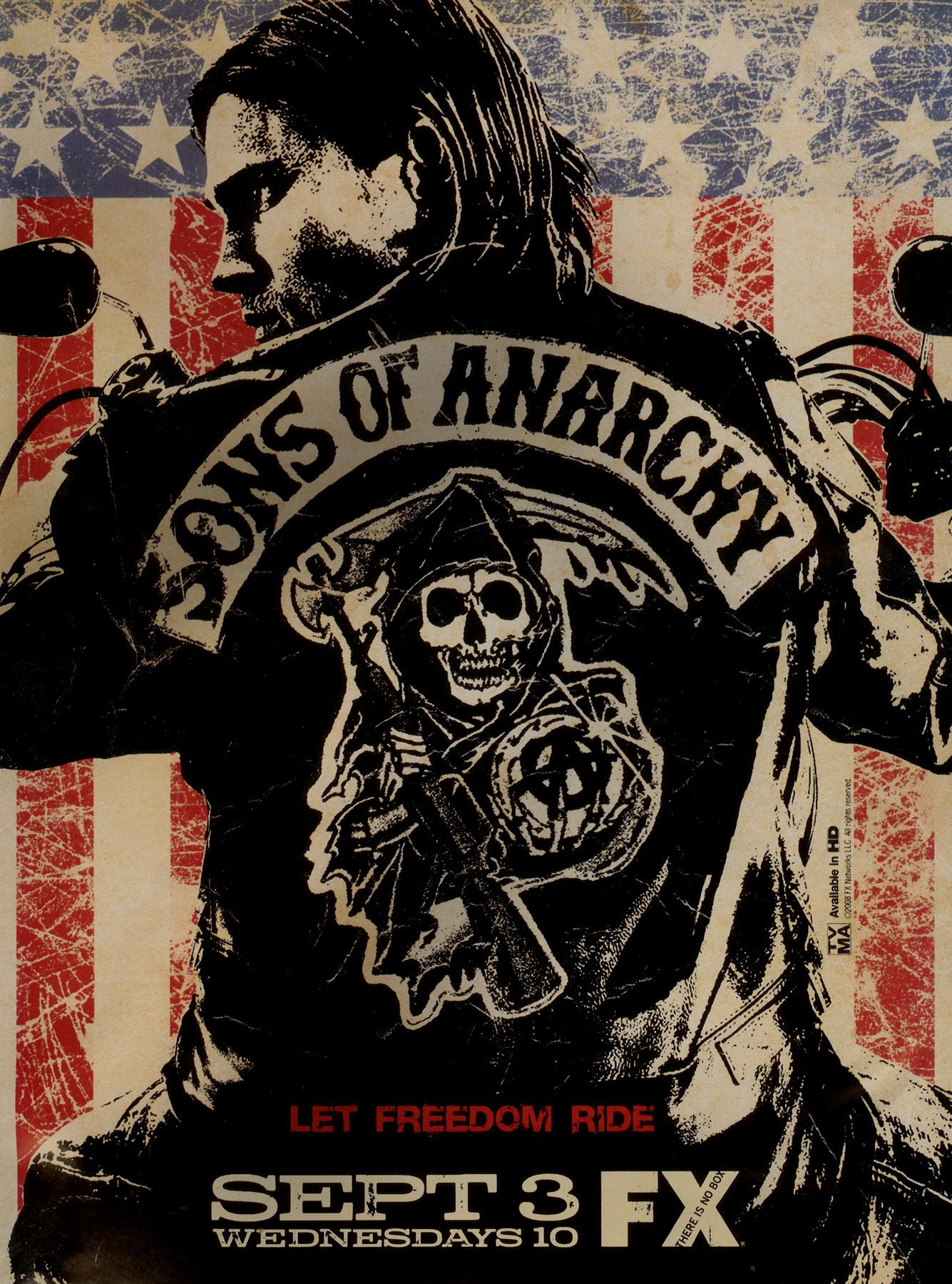 Sons Of Anarchy Photo Promotional Poster Sons Of Anarchy Anarchy Mark Boone Junior