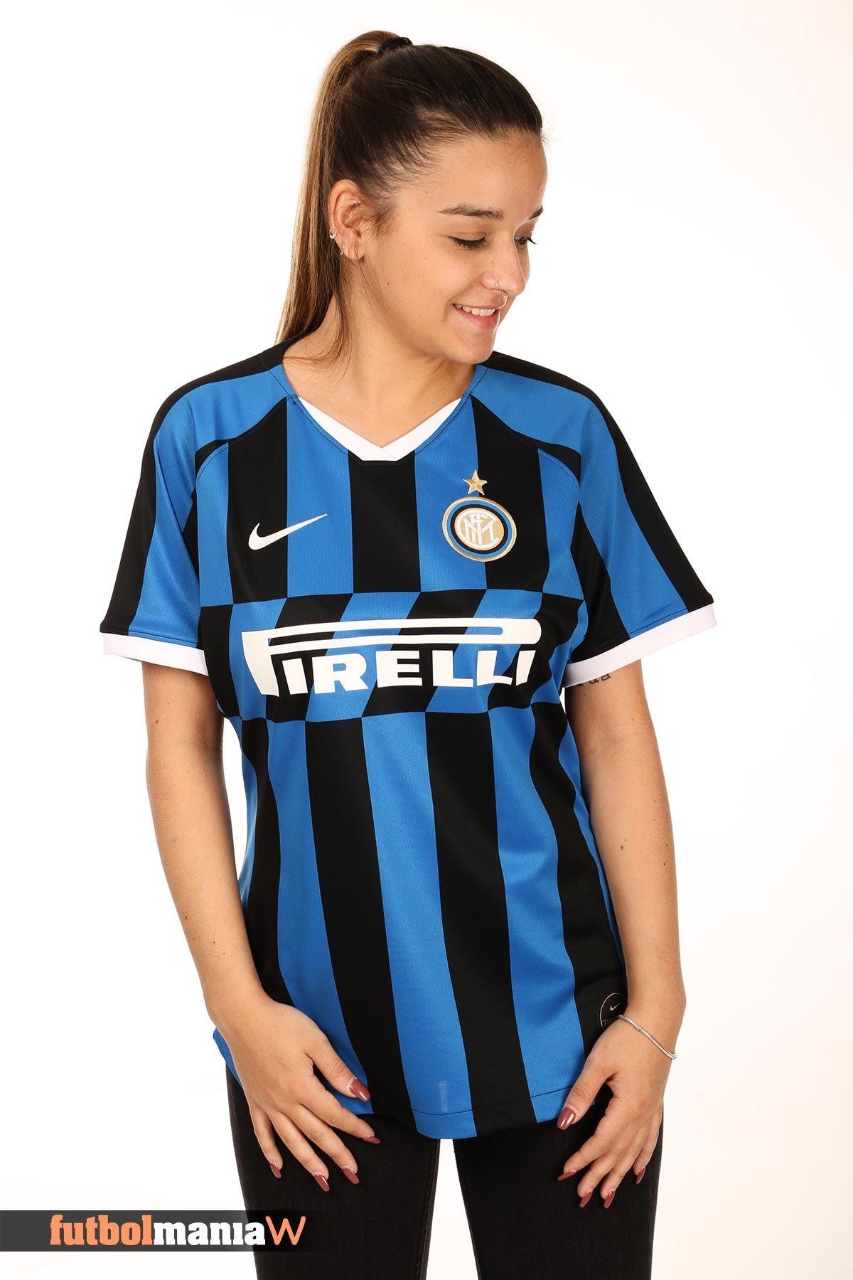 Suministro dramático Desaparecer  Camiseta Nike Inter 2019 2020 mujer Stadium | Camisetas deportivas,  Camisetas, Camisetas mujer