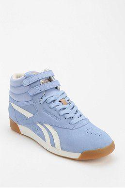 Reebok Freestyle Suede High Top Sneaker Reebok Freestyle Suede High Top Sneakers Shoes