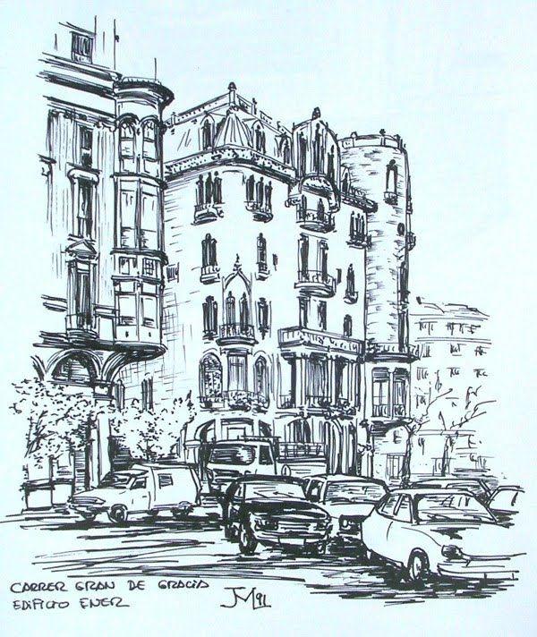 Joshemari: Casa Fuster - Gran de Gracia, Barcelona.