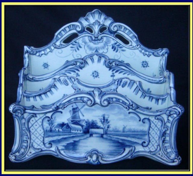 Antique Delft pottery hand painted
