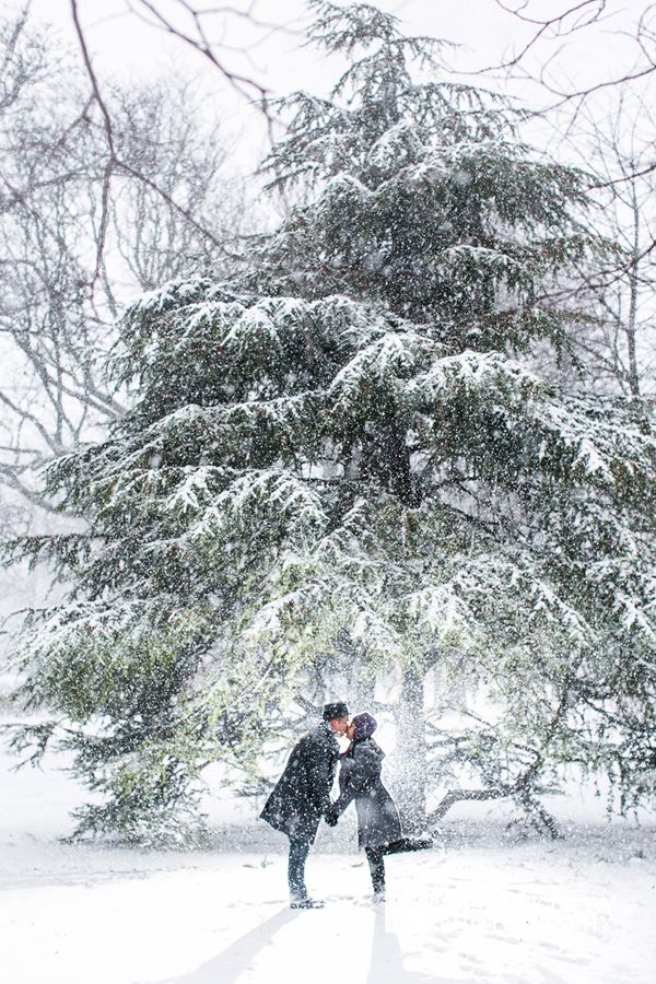 nyc-schnee-verlobungsfotos-schneesturm helena 2017 – winter verlobungsfotos …   – Engagement