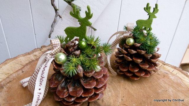 Tischdeko von chrisue haus und hofdekorationen auf - Dawanda weihnachtsdeko ...