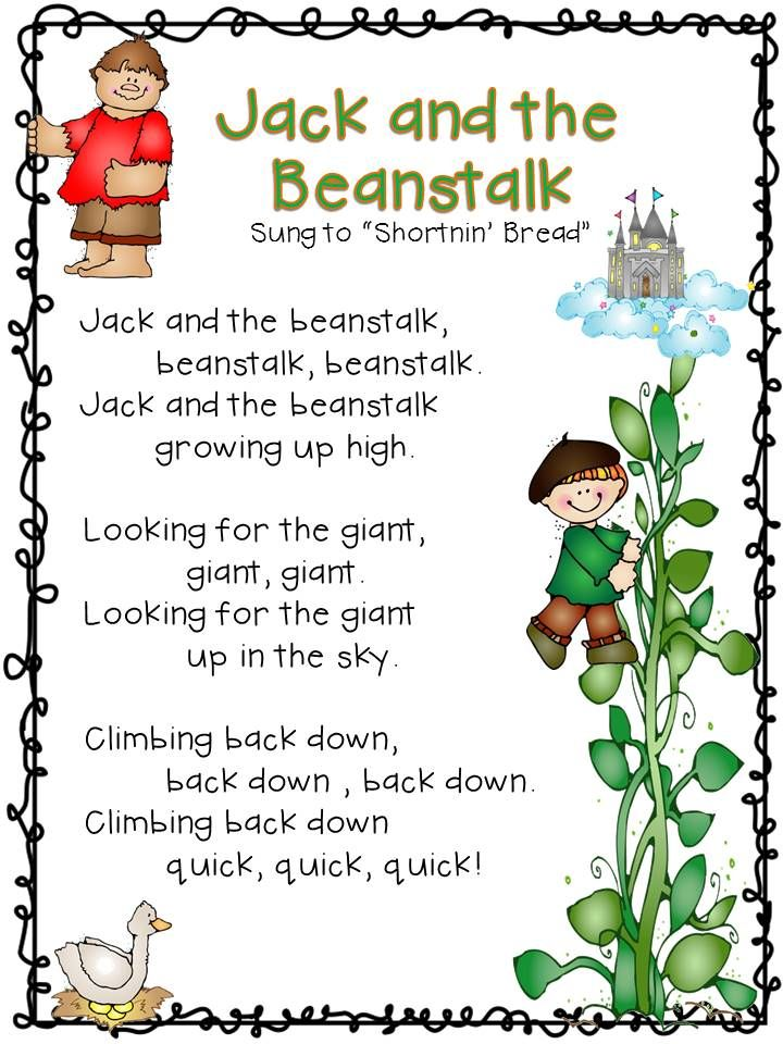 Fairy Tales In Kindergarten Literacy And Math Activities