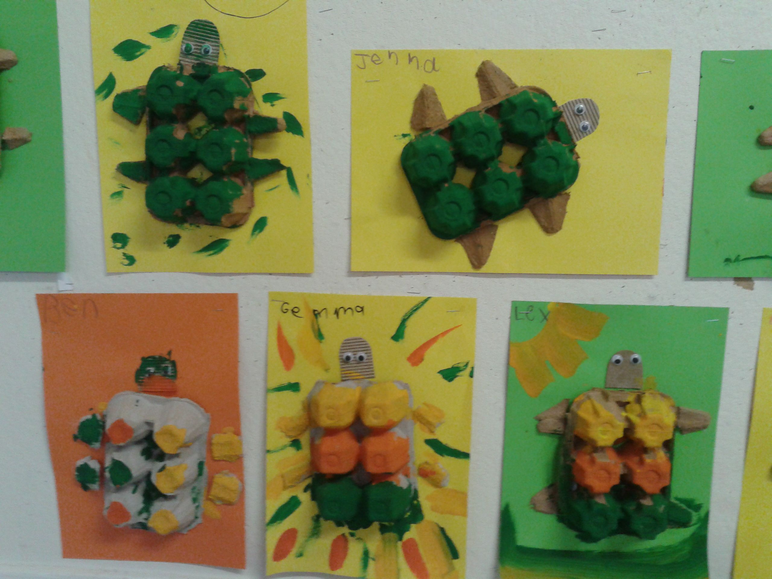 Tortoise Art Activity For Grade R