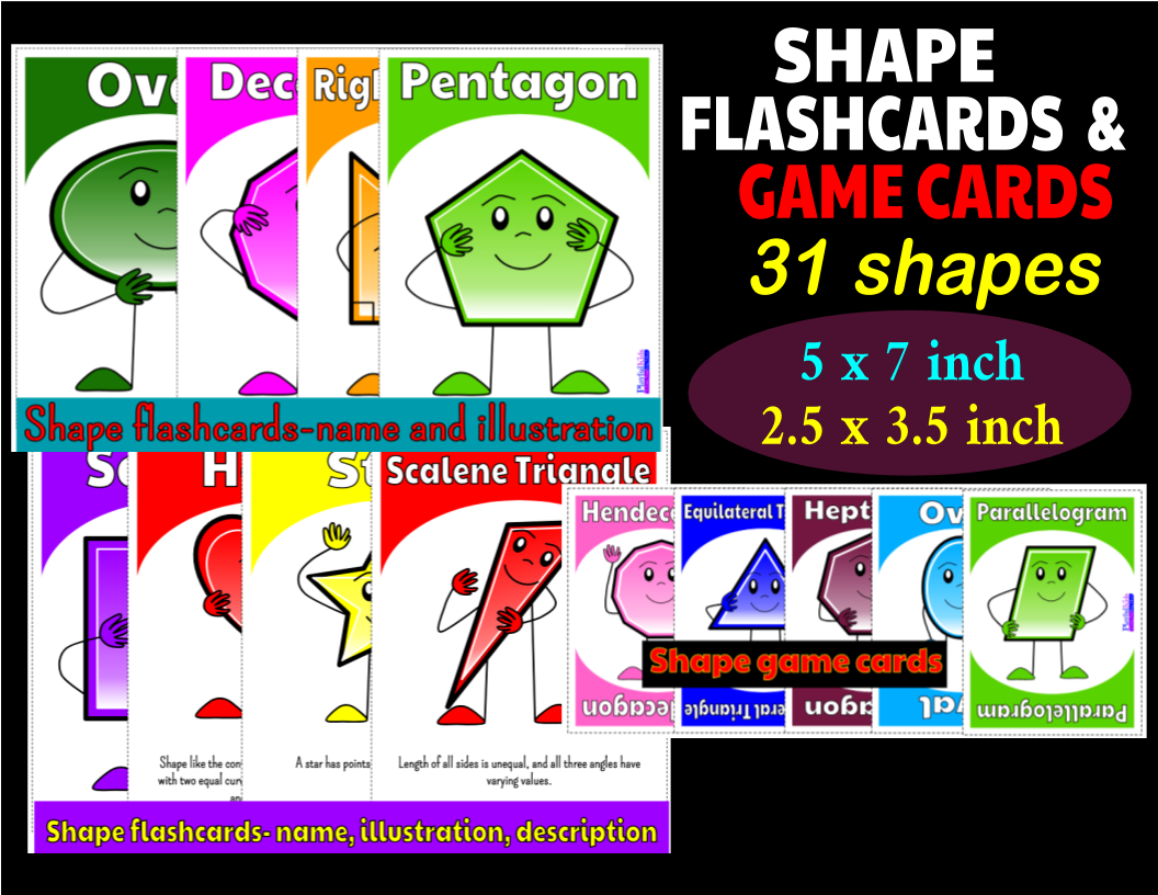 Help Your Students Or Child To Learn Shapes With These
