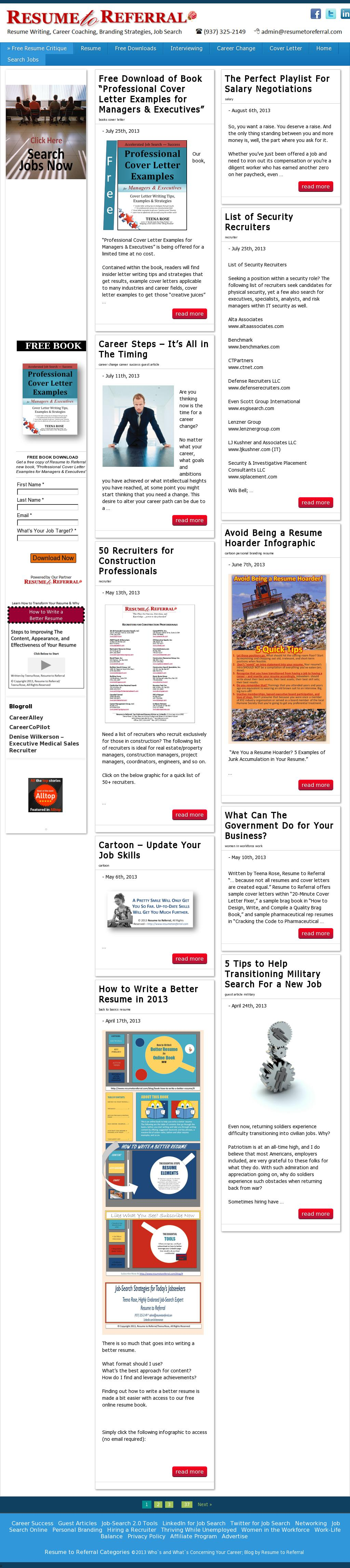 Resume Writing Services — Writing Resumes Since 1999
