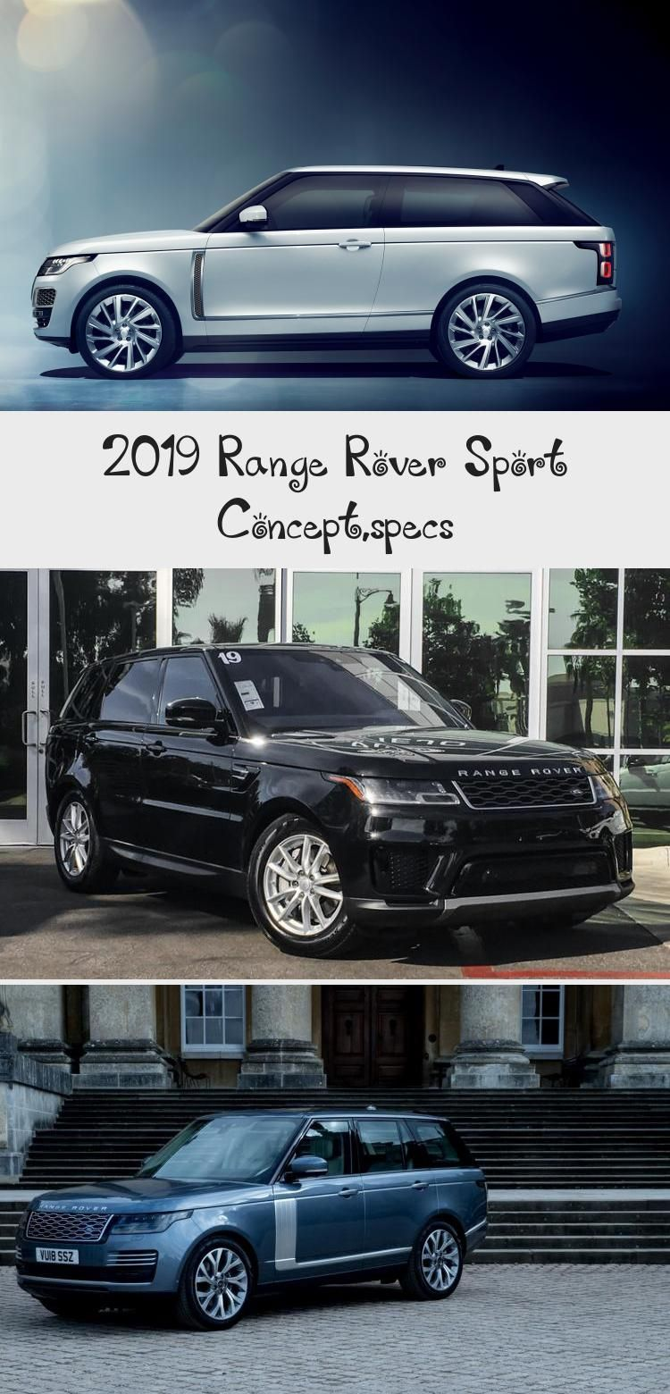 2019 Range Rover Sport Concept,specs in 2020 (With images