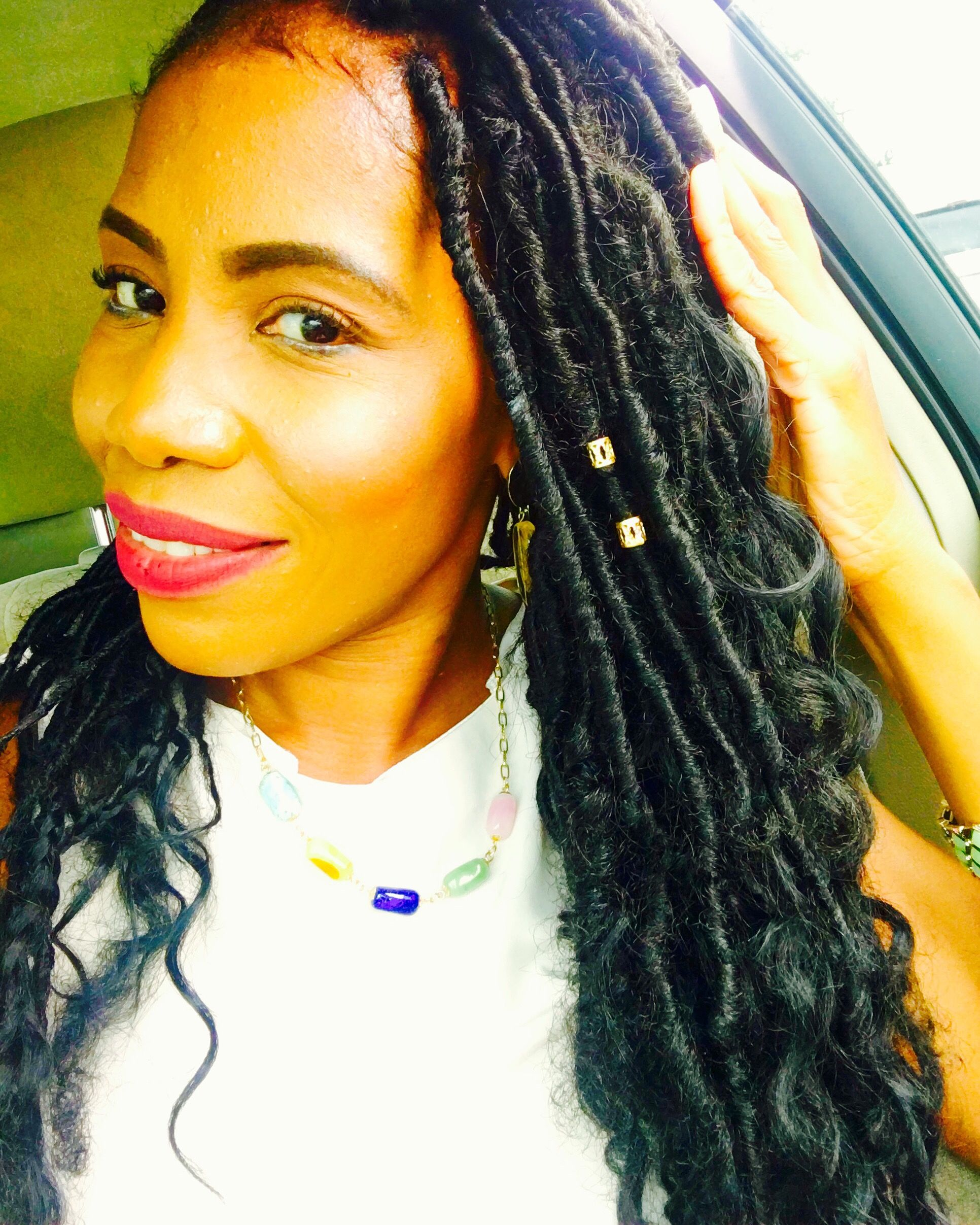Faux goddess locs styleseattomikapearsonutmcampaign
