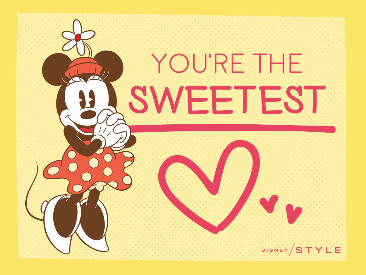 Cute Mickey U0026 Friends Valentines To Share With Your BFFs