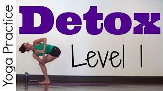 yoga for detox - YouTube