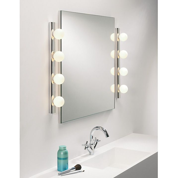 Bathroom Mirror Lights John Lewis astro cabaret bathroom wall bar | bathroom wall, lighting and john