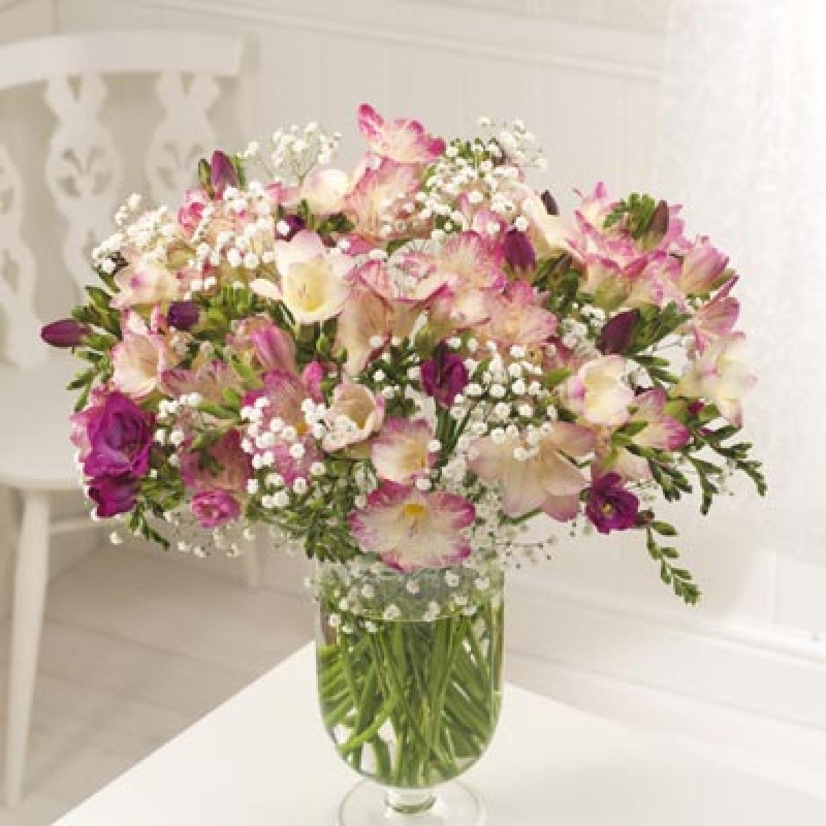 Freesia Google Search Flowers Delivered Flower Delivery Freesia Bouquet