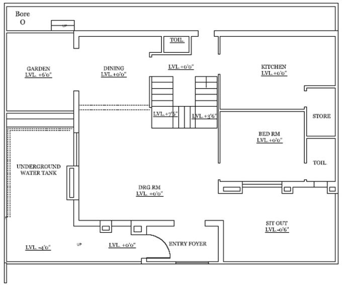 Make architectural and civil drawings in autocad by for 2d blueprint maker