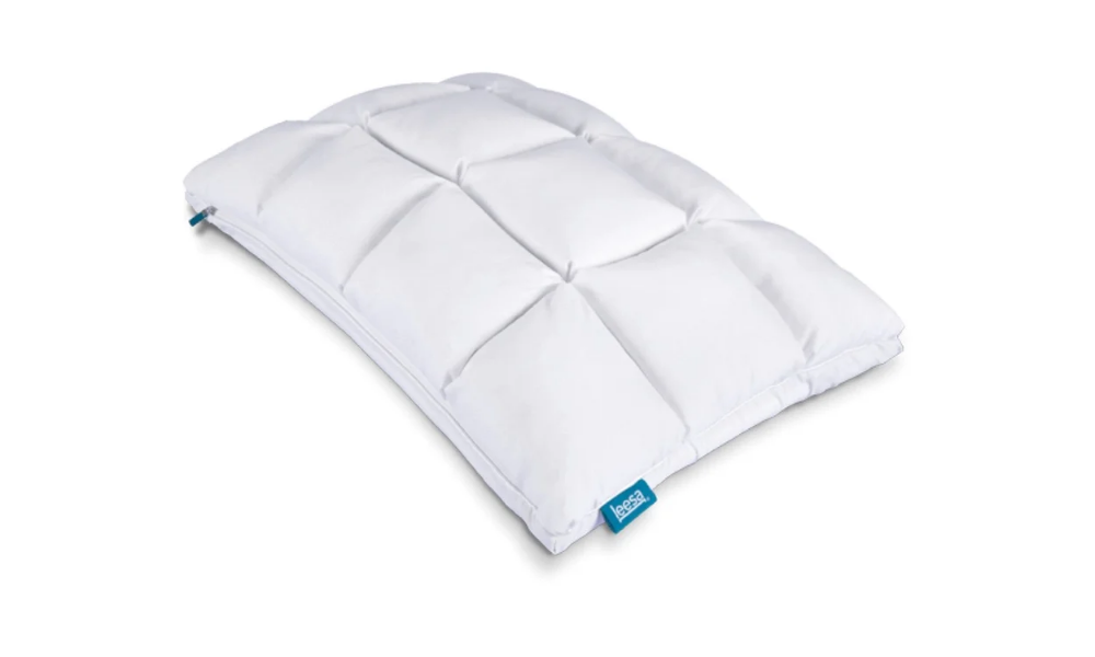 Leesa Hybrid Pillow Customizable Cooling Pillow For Hot Sleepers