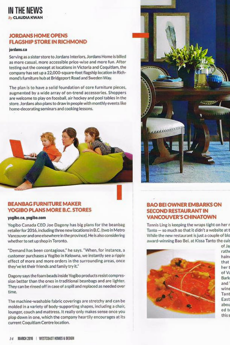 Furniture Stores Richmond Victoria So Blessed To Be Featured In The Wc Home Design Magazine
