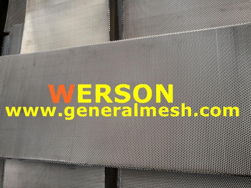 Universal Aluminum Diamond Mesh Grille Material Aluminium Aperture 16 X 8 Mm 12 X 5 Mm 10 X 6 Mm 10 X 5 Mm 8 X 4 M Aluminium Diamond Mesh Custom Grill