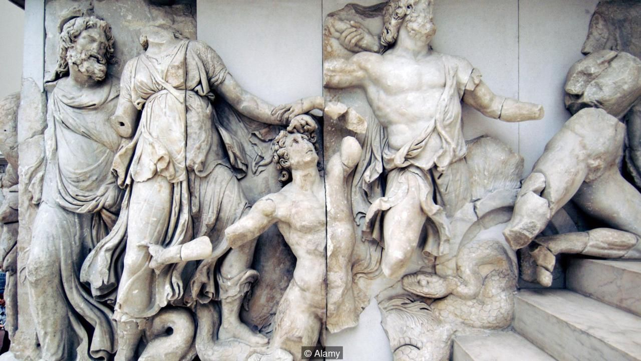 Ancient Gaia Statue the most dazzling city of the ancient world | ancient greek
