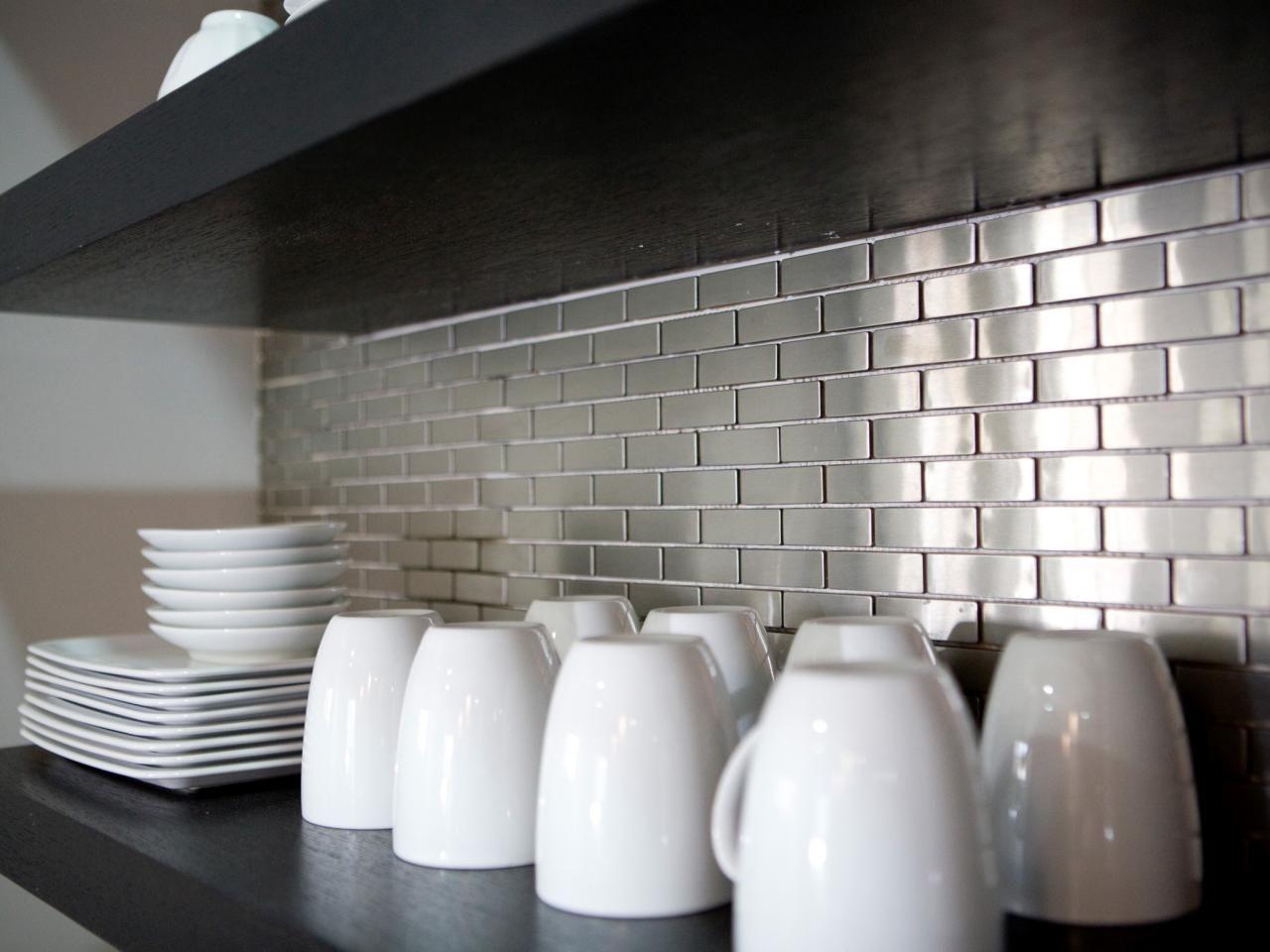 Marvelous Kitchen Backsplash Stainless Steel Ideas Part - 5: Stainless Steel Backsplashes: Pictures U0026 Ideas From