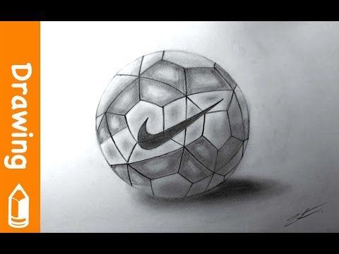 Drawing Nike Football Youtube Nike Soccer Ball Nike Football Soccer Cleats Nike