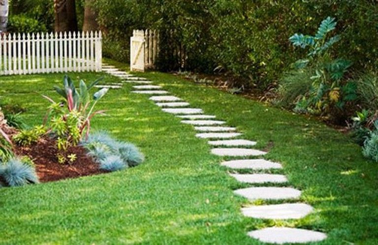 50+ Luxury Garden Path Walkways Ideas is part of Beautiful garden Walkways - We've got all heard the expression about jumping down the primrose path to a life of simplicity and leisure  Thought that this might not be possible for the majority of us, a pleasant garden route in your lawn can be  … Continue Reading →