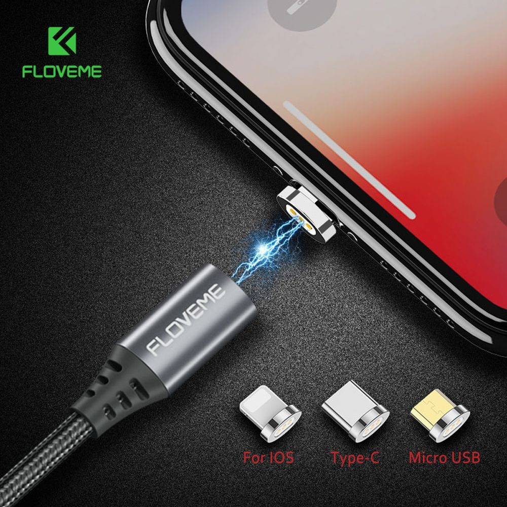 Buy Floveme Magnetic Usb Cable For Iphone 6 Xiaomi Redmi 4x Micro Eternity Ultra Port Charger 2 Fast Charging Type C