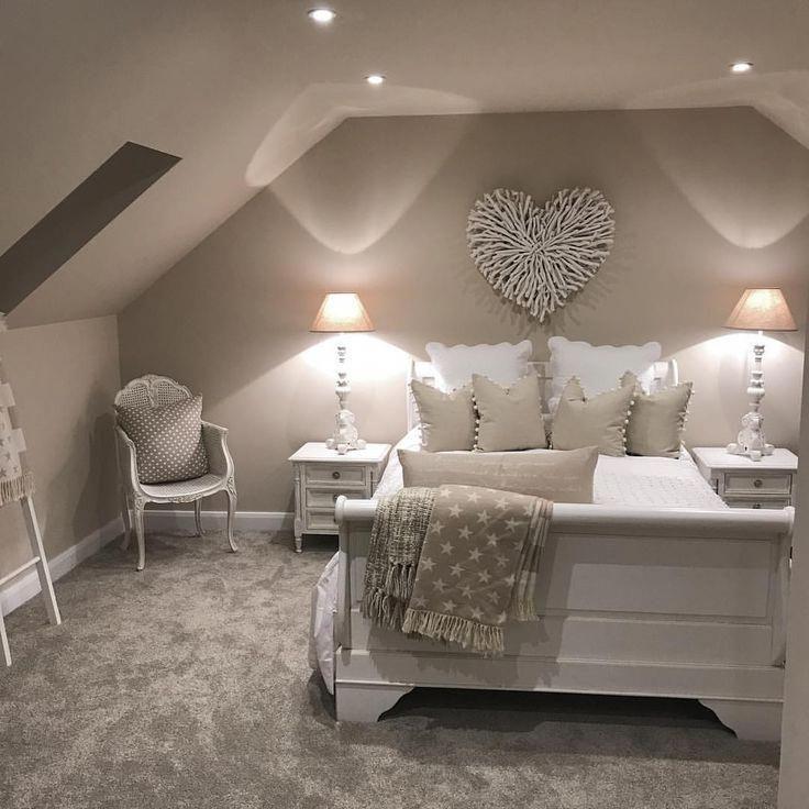 Attic Master Bedroom Suite Slanted Ceiling