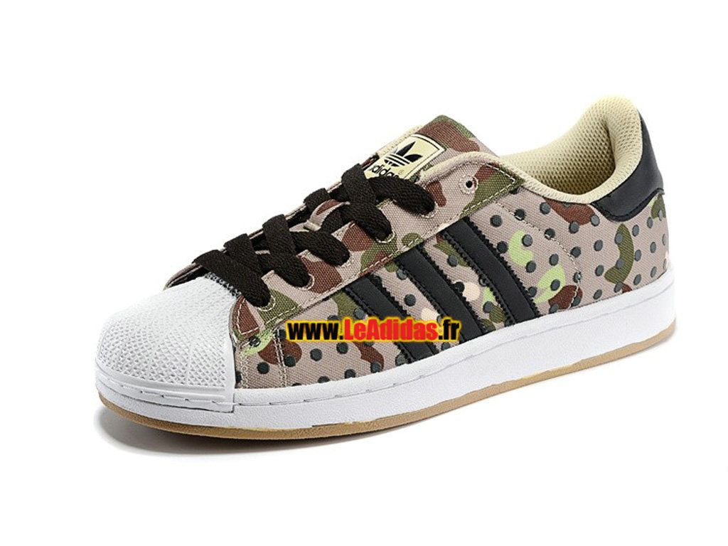 1658cc858ba5 Adidas Originals Superstar II - Chaussures Adidas Running Pas Cher Pour… Black  Casual Shoes
