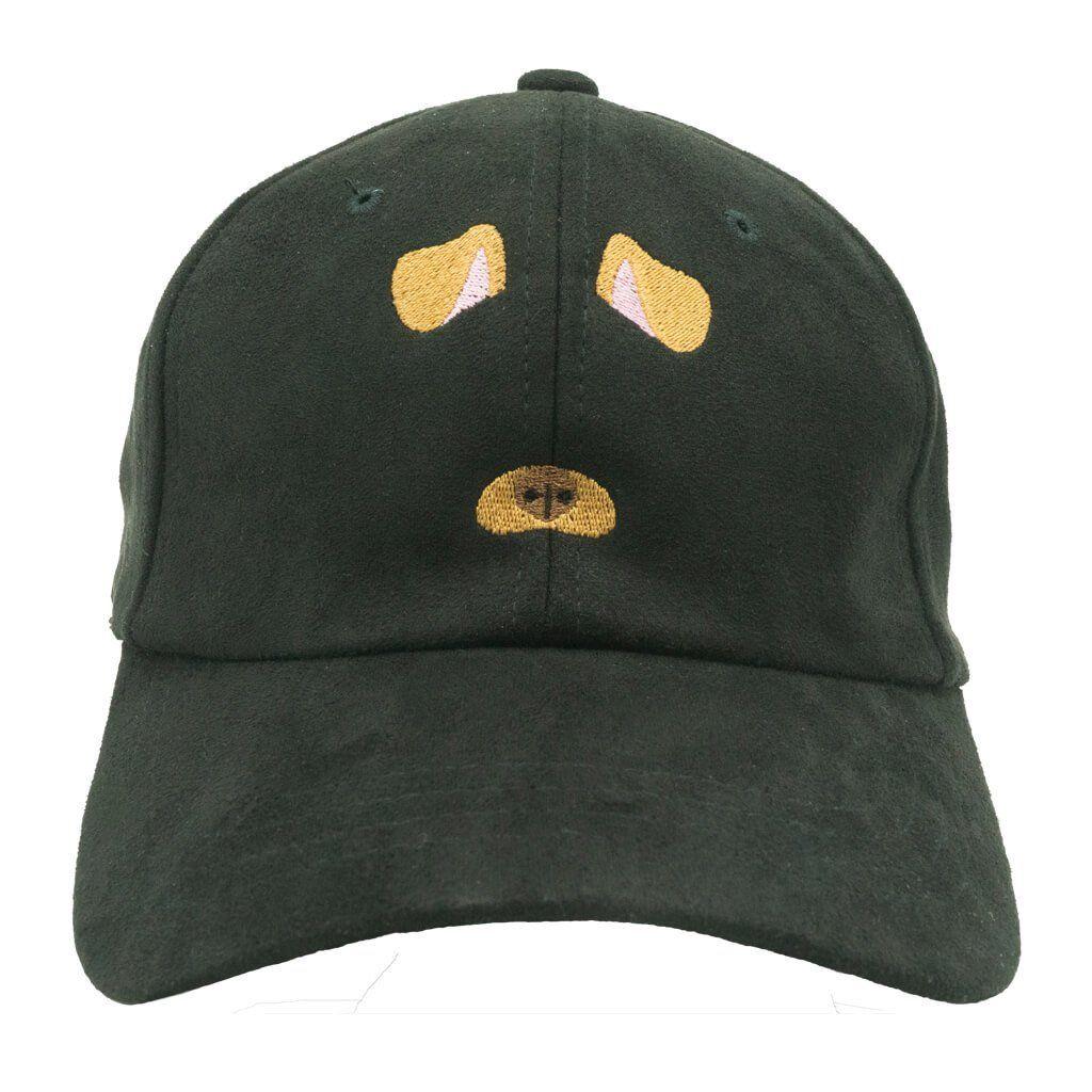 11d81cfdf46 Dog Filter Dad Hat - Black Suede