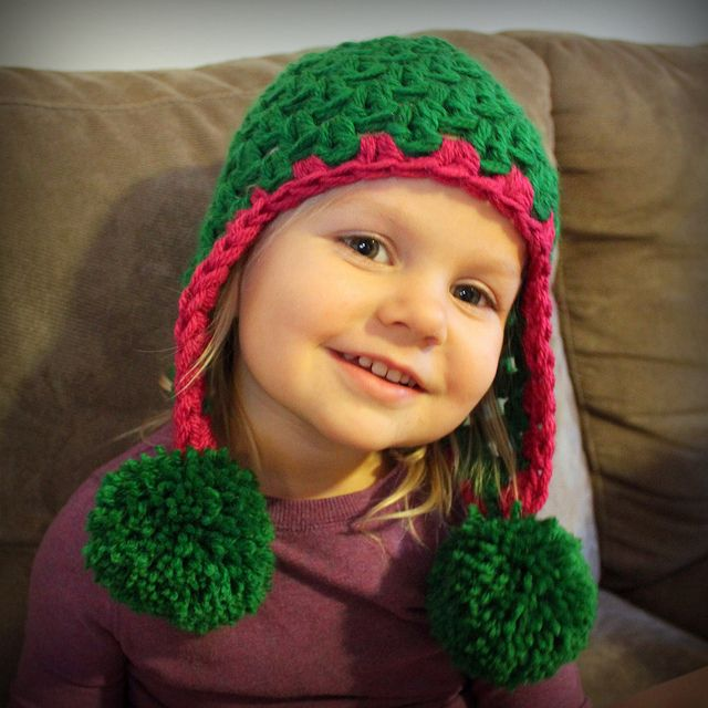 Q and E (Quick and Easy) Earflap Hat pattern by Mamachee ...