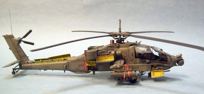 1/72 Academy AH-64A Apache by Dave Fassett