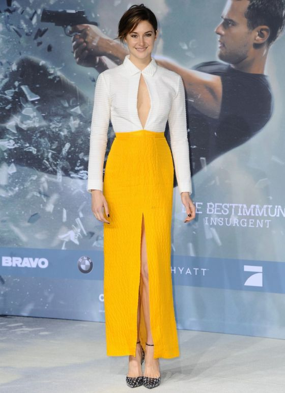 Shailene Woodley - Premier Insurgente. Starving.com.br