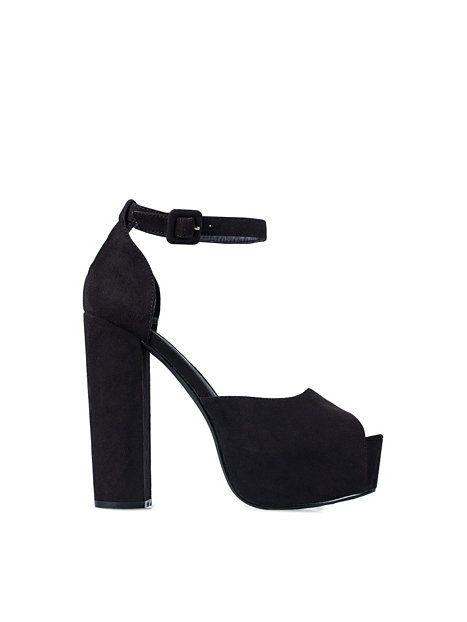 Platform Sandal - Nly Shoes - Noir - Chaussures De Soirée - Chaussures - Femme - Nelly.com La Mode En Ligne Sur Internet