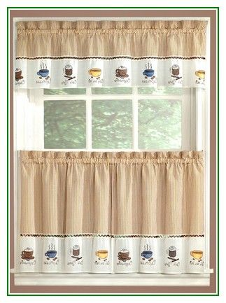 Coffee Beans Java Cups Kitchen Window Curtain Interiors Http Www Amazon Com Dp B00vubs9m4 R Coffee Decor Kitchen Coffee Theme Kitchen Kitchen Window Curtains