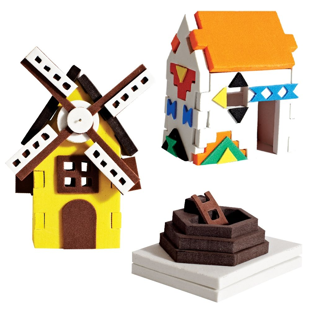 3d Houses Windmill House Ndebele House Pit House Worldwide 3d