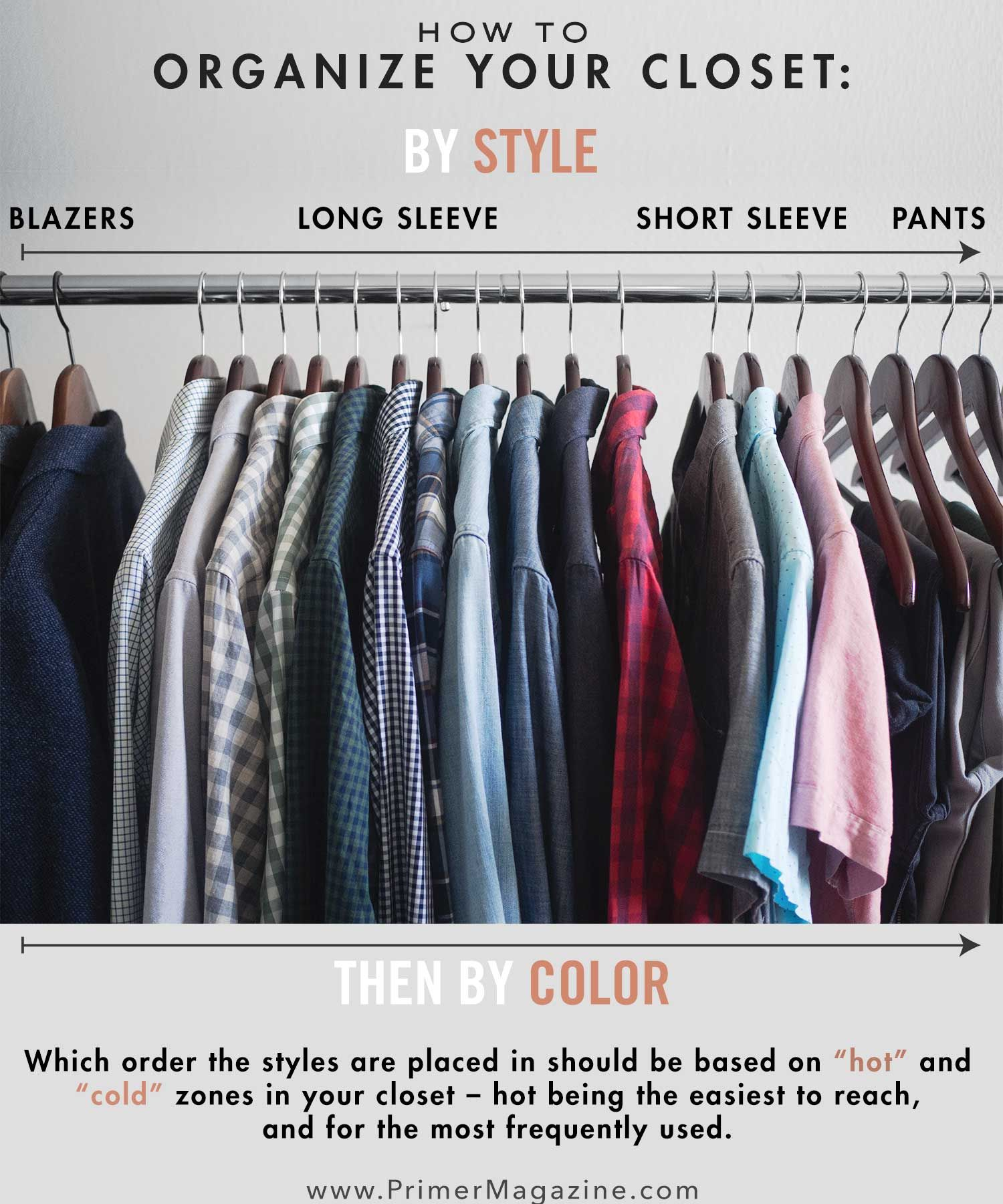 9 Closet Organization Ideas To Tame Your Wardrobe Closet Hacks Organizing Mens Closet Organization Clothes Closet Organization,How Big Is A King Size Bed