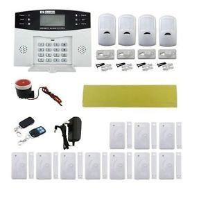 108 quad band wireless wired gsm home burglar security alarm system lightinthebox quad band gsm home burglar security alarm system w detector sensor kit remote control check this awesome image diy do it yourself solutioingenieria Images
