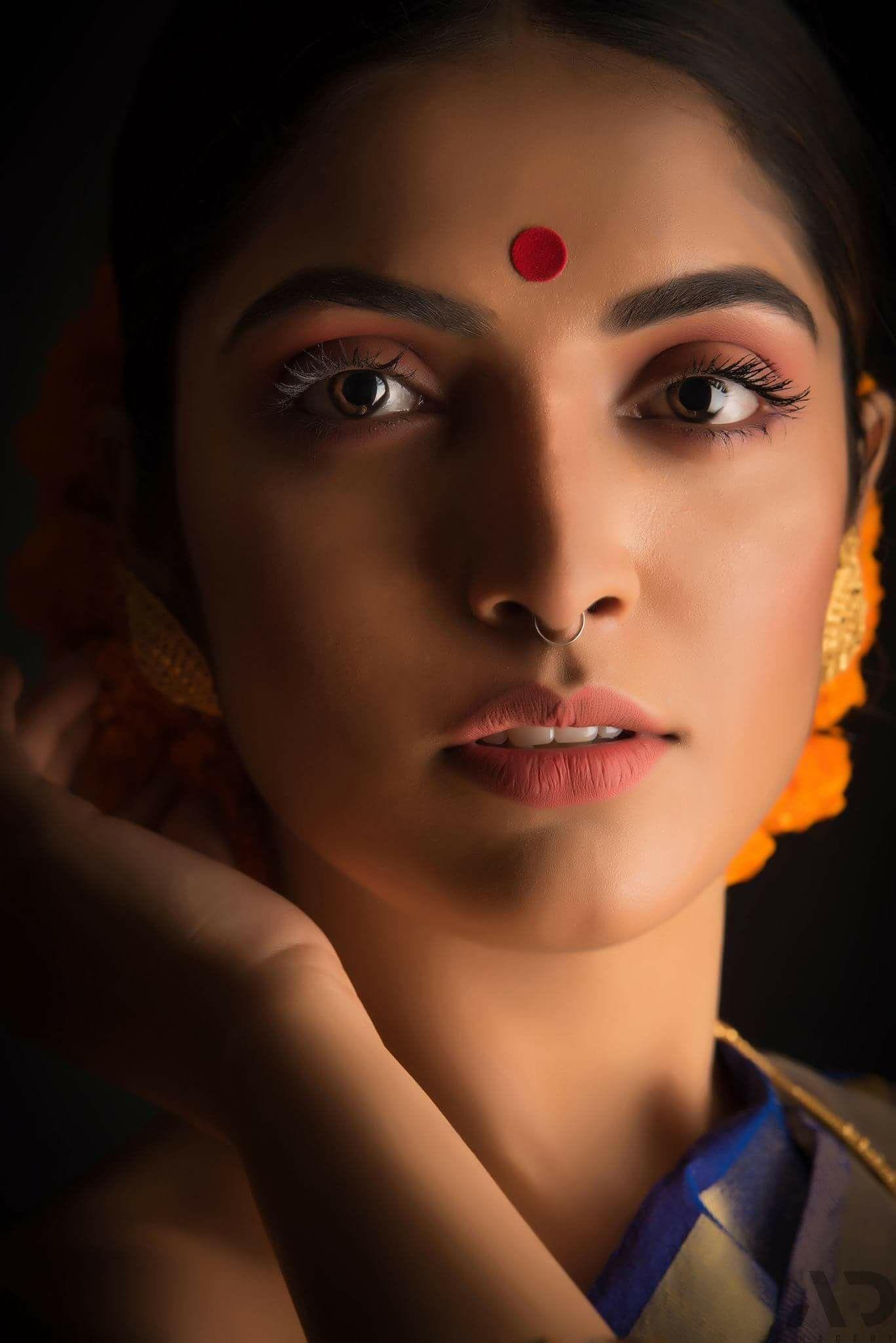 Beautiful Indian Eyes Indian Beauty