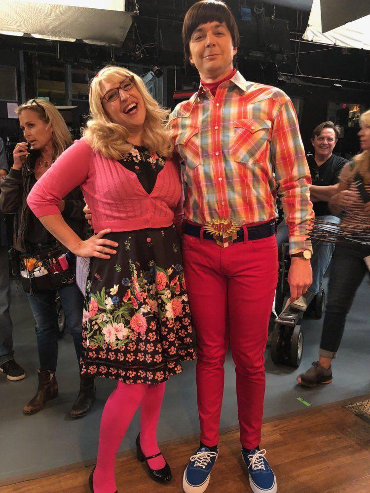 Mayim Bialik breaks down the Big Bang Theory Halloween episode