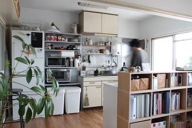 連載 団地の新しい住まい方アイデアコラム 第1回 団地の キッチン をもっと楽しもう リノベーション キッチン キッチンレイアウト インテリア 収納