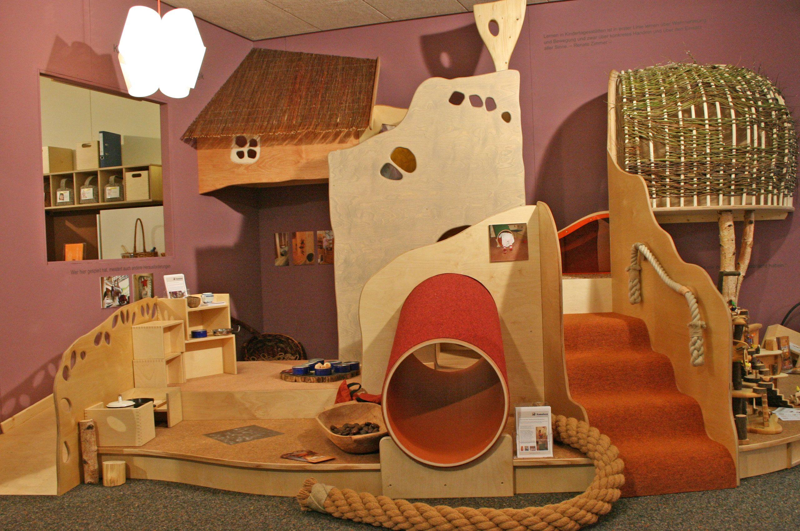 Kameleon Bildungsräume Kita räume, Kinder krippe