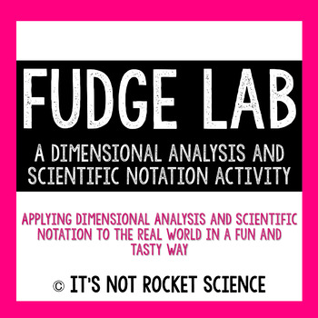 Dimensional analysis fudge lab activity making fudge dimensional analysis fudge lab activity fandeluxe