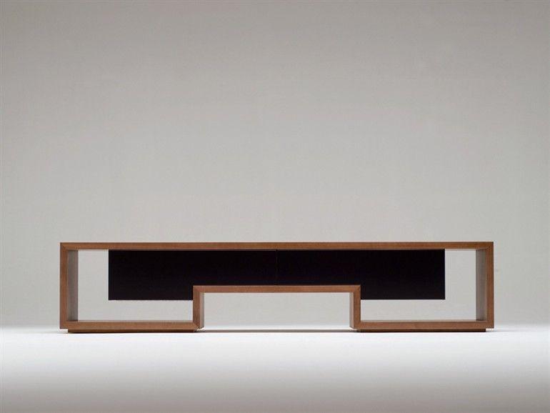 Mobile TV in legno ATILLA Collezione Atilla by Conde House Europe ...