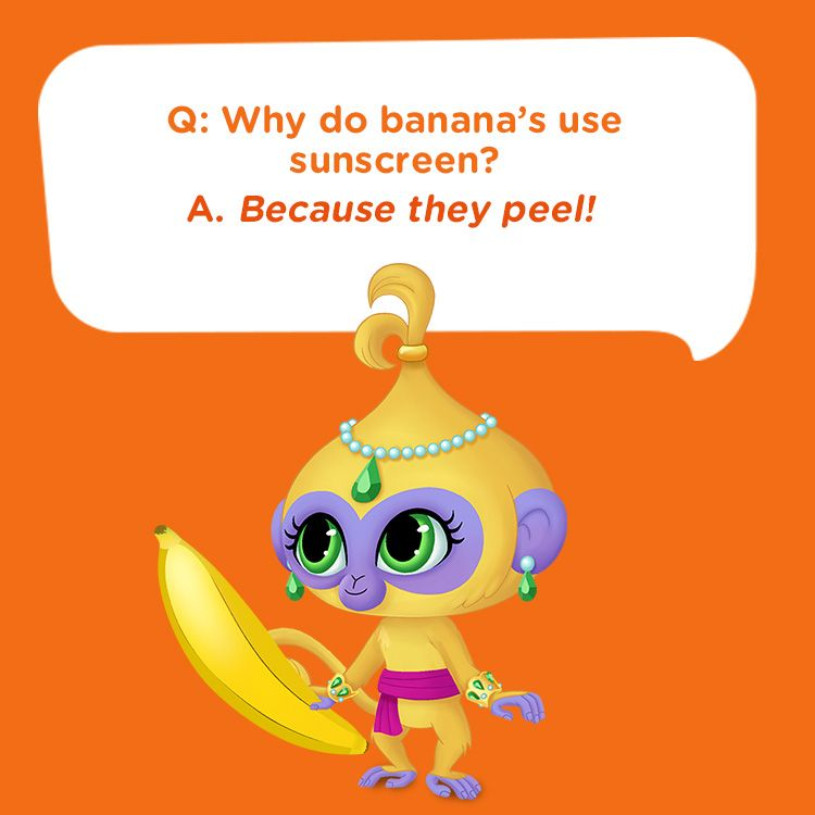 Check Out This Fun Summer Kids Joke: Why Do Bananas Use