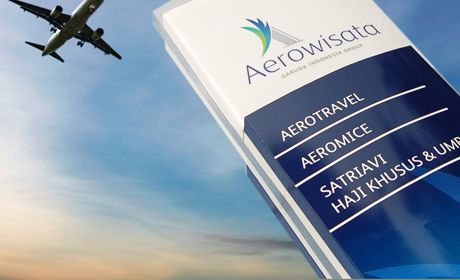 Aerowisata Corporate Sign System