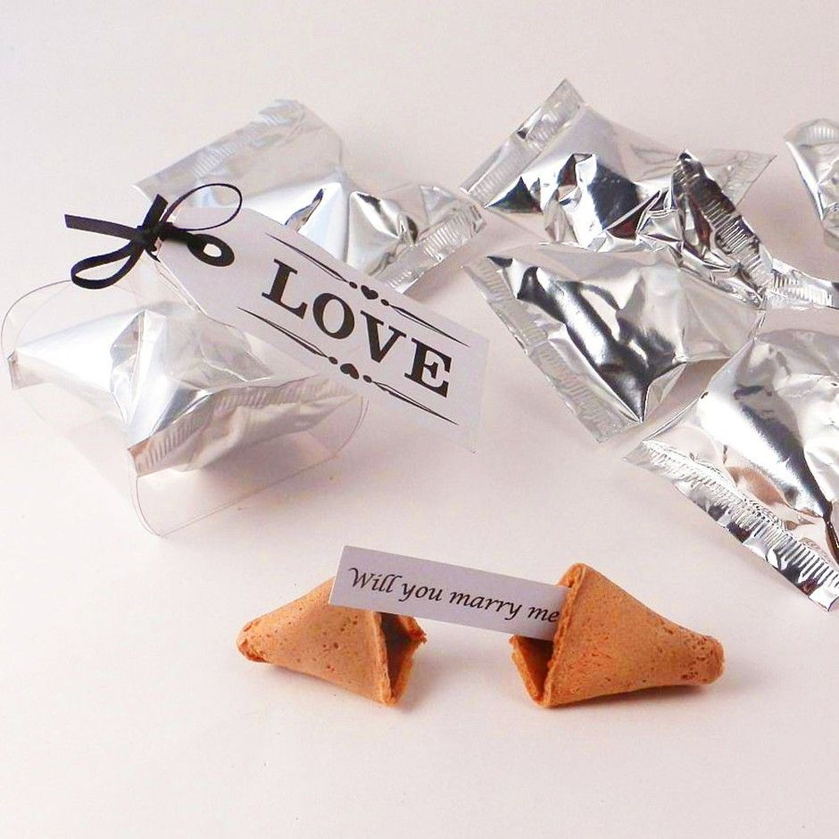 Will You Marry Me Fortune Cookie In 2020