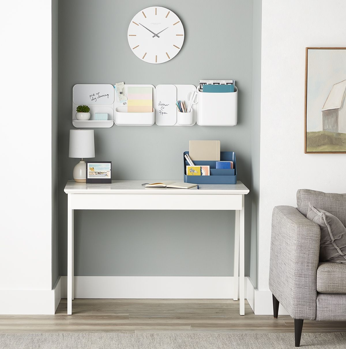The Best Desk Is An Organized Check Out A Few Of Our Freestanding Solutions Perfect For Any Small E