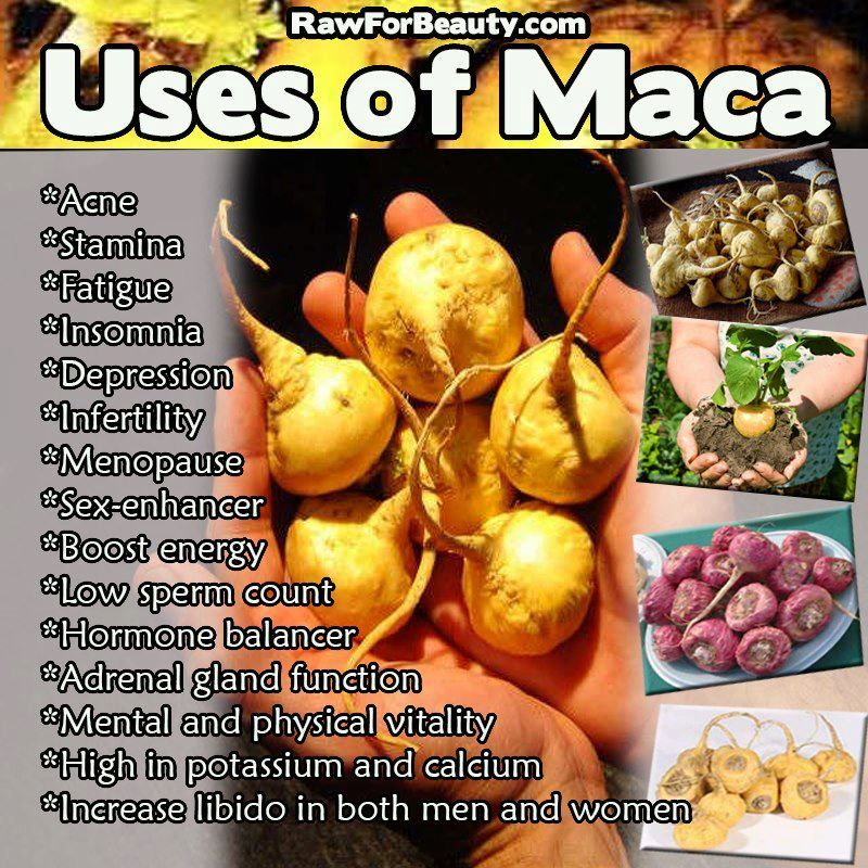Maca Root - A natural herb, that aids in balancing hormones and aids