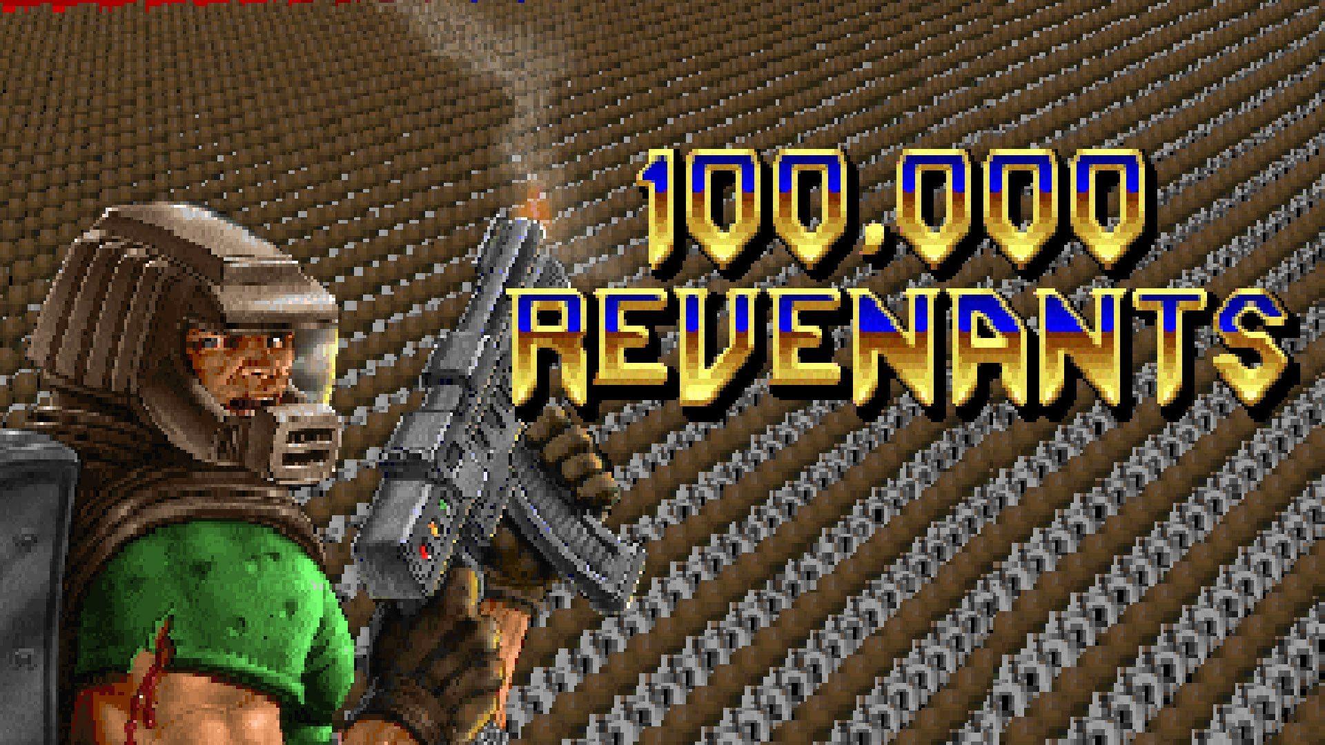 100000 Revenants - A Doom 2 Map | Gaming